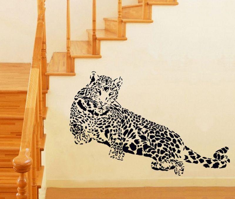 Buy Tiger Wall Sticker (60 Cm X 90 Cm) online