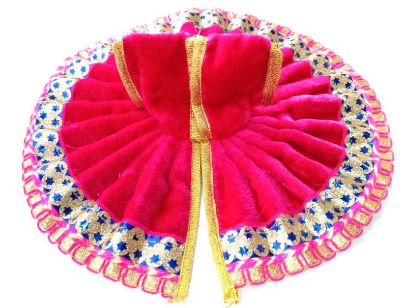 ff44e59dc1253 Buy Woolen Poshak For Bal Gopal / Velvet Poshak With Lace Border ...