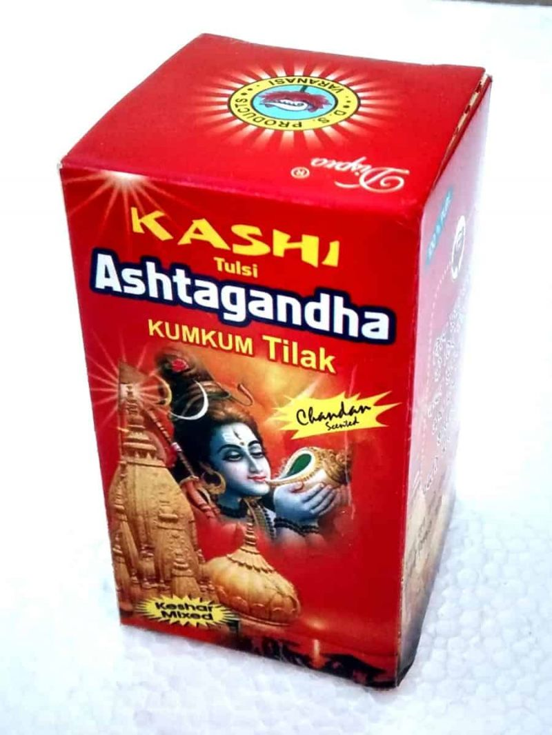 Buy Kashi Tulsi Ashtagandha Chandan Tilak Powder Pack Of 12 online