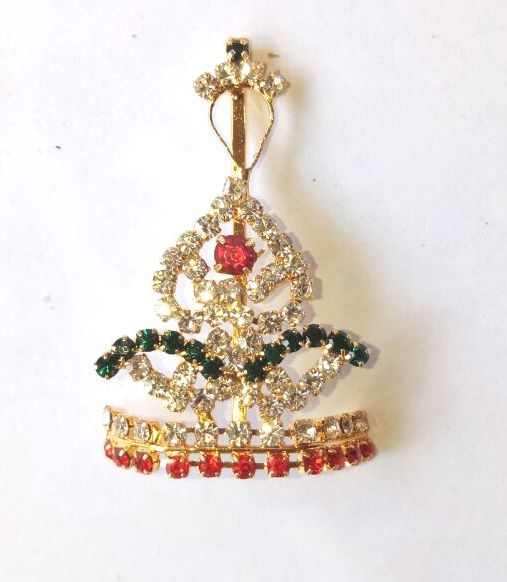 Buy Diamond Stone Work Mukut For Laddu Gopal / Designer Mukut For Thakurji online