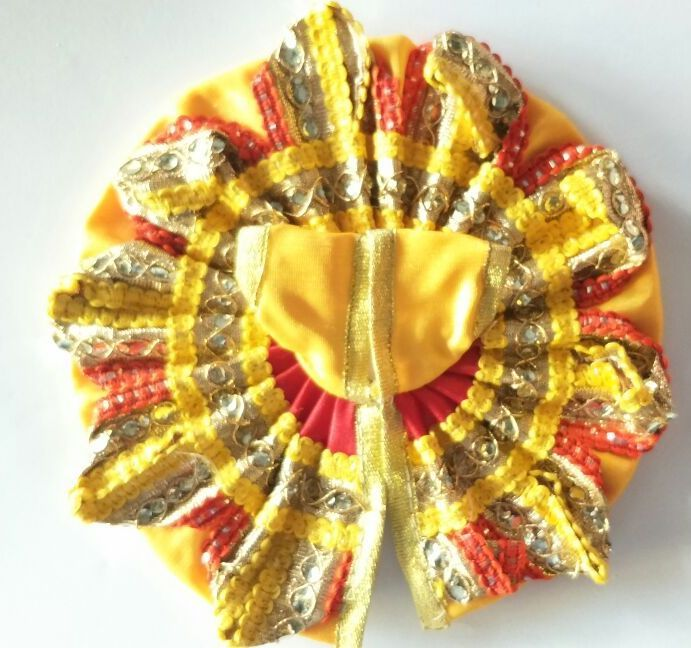 Buy Elegent Poshak For Laddu Gopal / Designer Poshak For Bal Gopal online