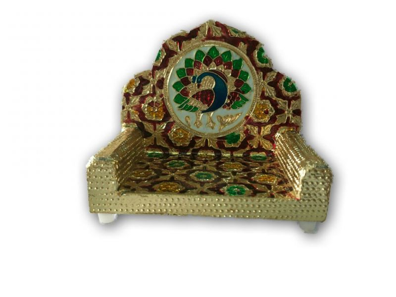 Buy Meenakari Singhasan For God / Singhasan Exclusive online