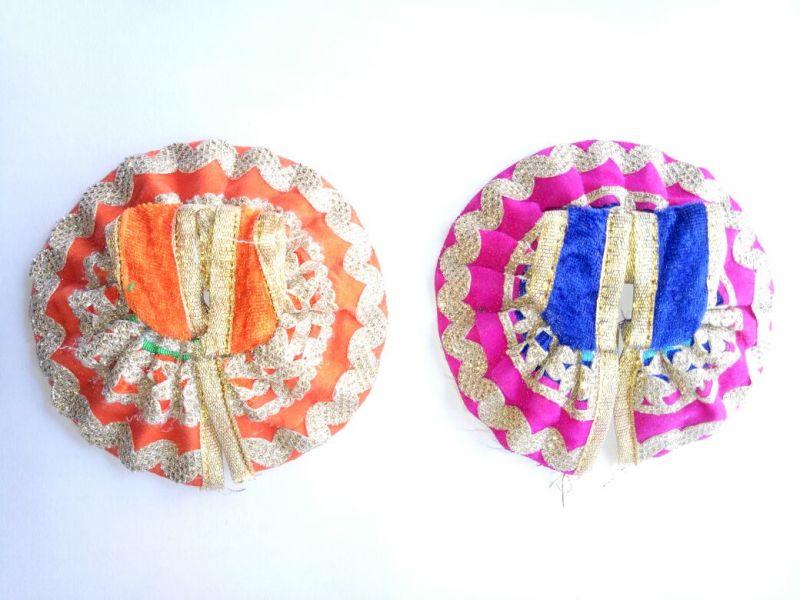 Buy Bal Gopal Lace Velvet Colorful Poshak ( 0 No.) - 2 PCs online