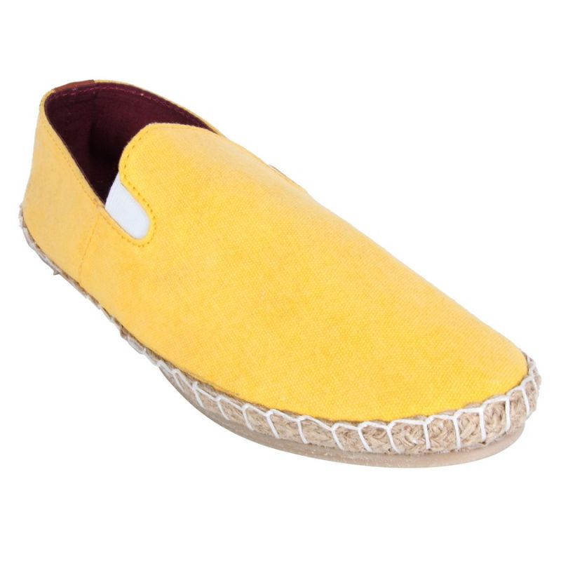 Buy Fine Arch-canvas Espadrilles For Men_asf-135-yellow online