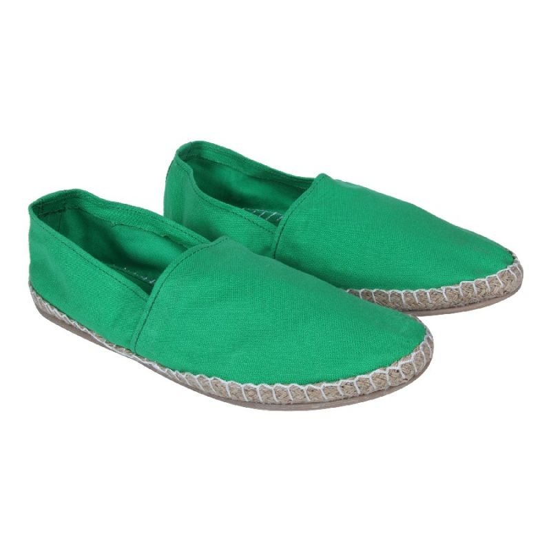 Buy Fine Arch-solid Espadrilles For Men_espa-11-green online