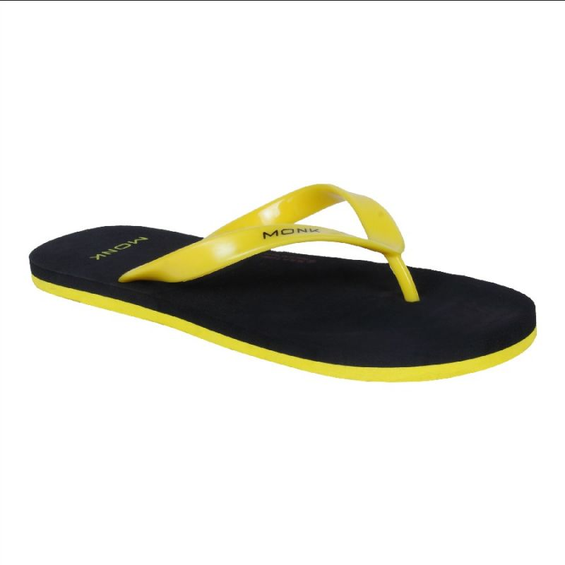 Buy Monkx-lifestyle Black Flip Flop For Men_slp-04-black online