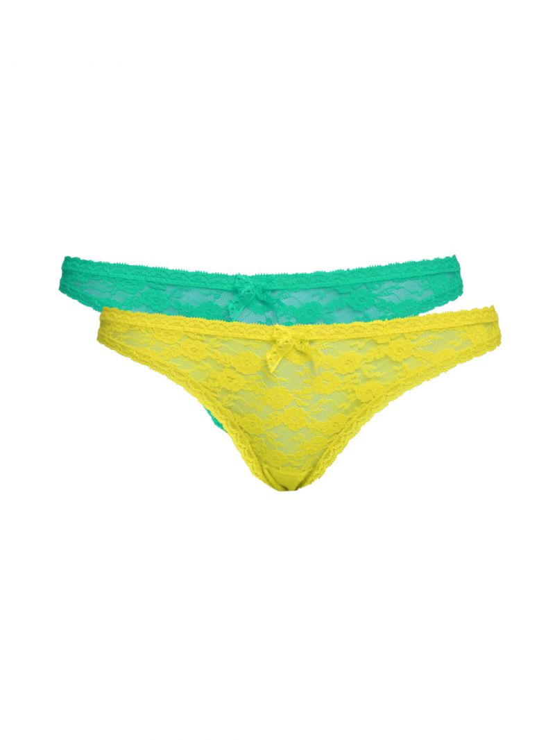 Buy Soie Multicolor Polyamide Spandex Panty For Women Pack Of 2 (code - 2tg6pack_4) online