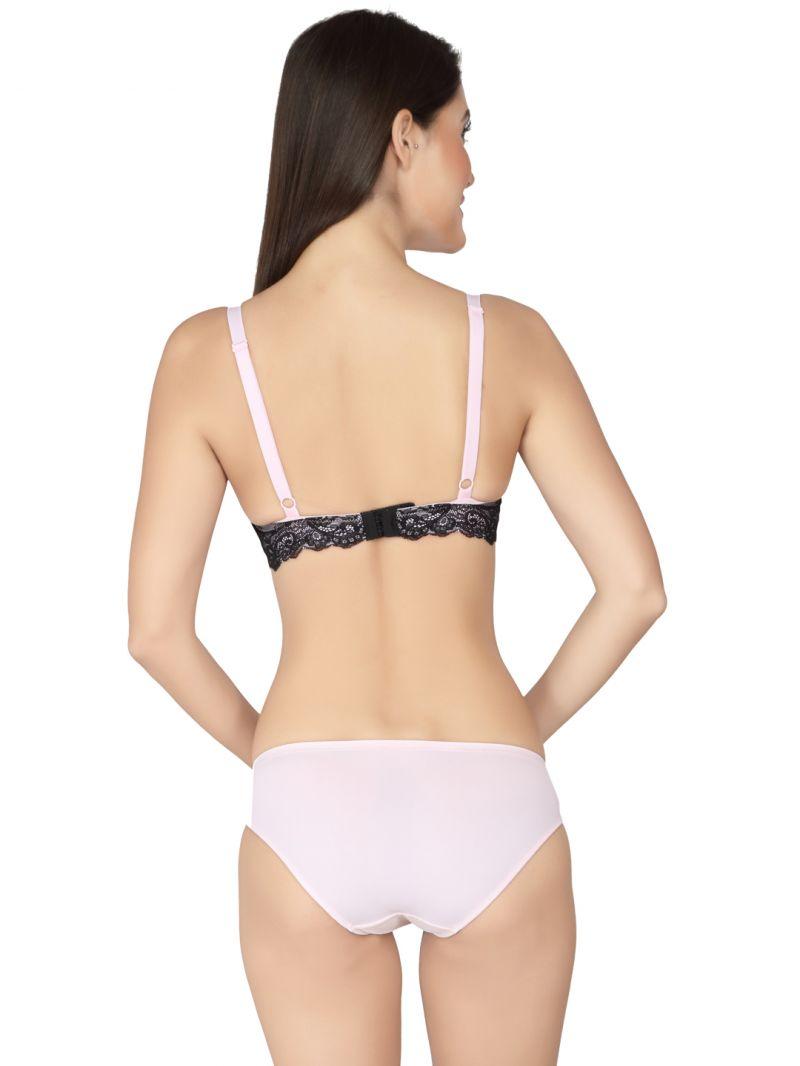 Soie Blushing Bride Print Wired Padded Bra And Matching Panty (code - Set  516+1516blushing Bride) 6fe1b0cb9