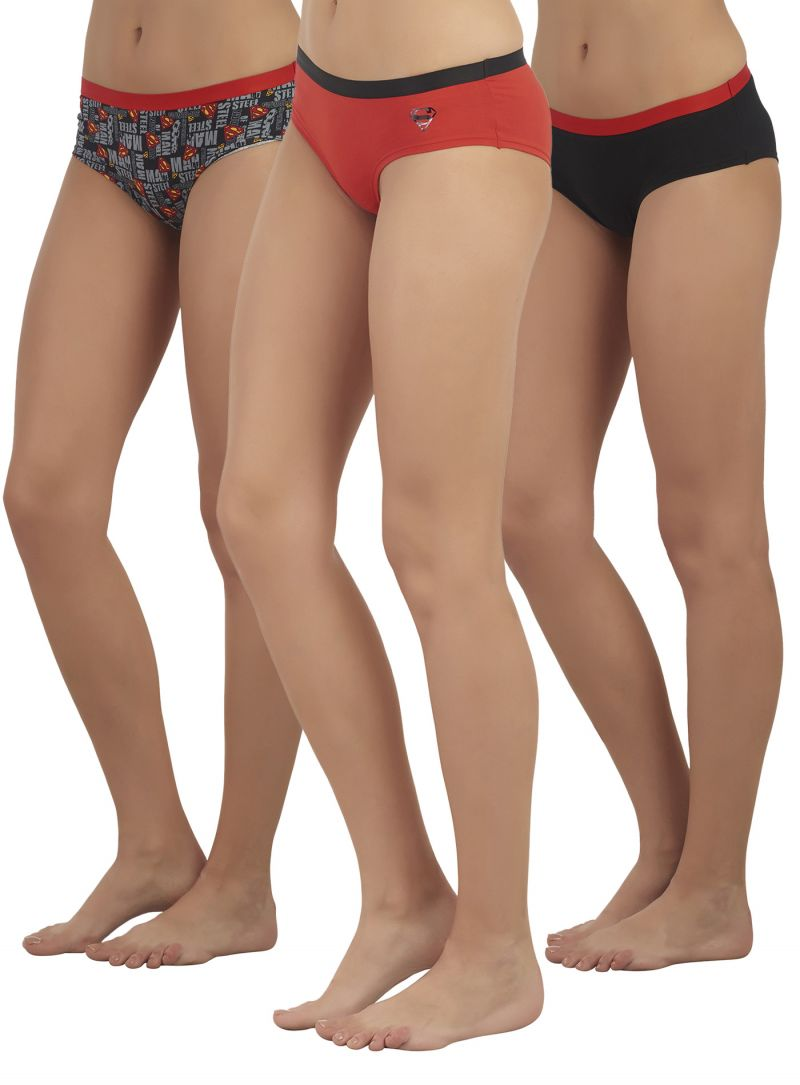 03374e5ad Buy Soie Multicolor Cotton Panty For Women Pack Of 3 Online