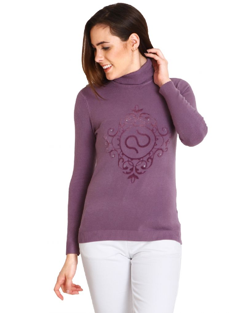 Buy Soie High Neck Pullover, Soie Label On Chest online