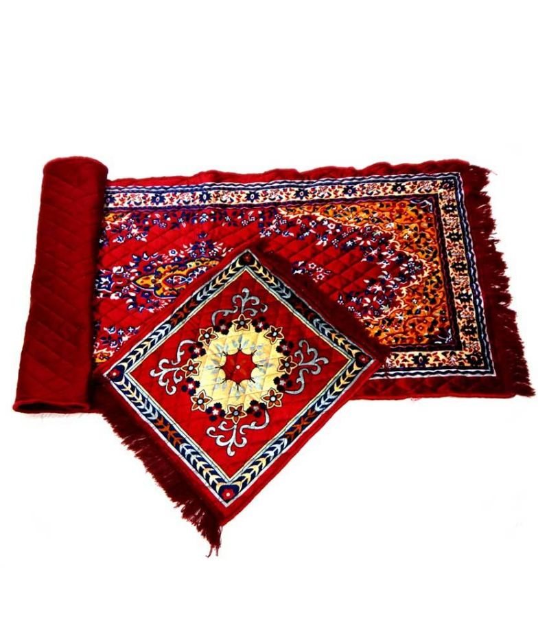 Buy Peponi Multicolor Velvet Rug With Assan online