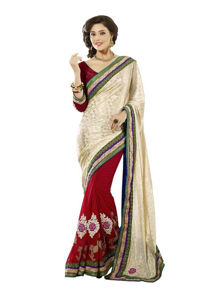 54e97993b3946e Buy Vipul Womens Heavy embroideried Jacquard