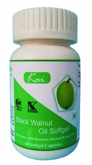Buy Hawaiian Herbal Black Walnut Oil Softgel online