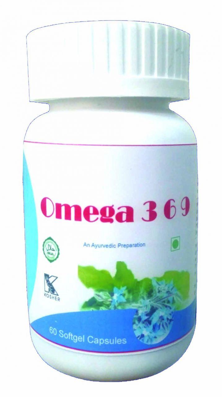 Buy Hawaiian Herbal Omega 3 6 9 Softgel Capsule 60 Softgels online