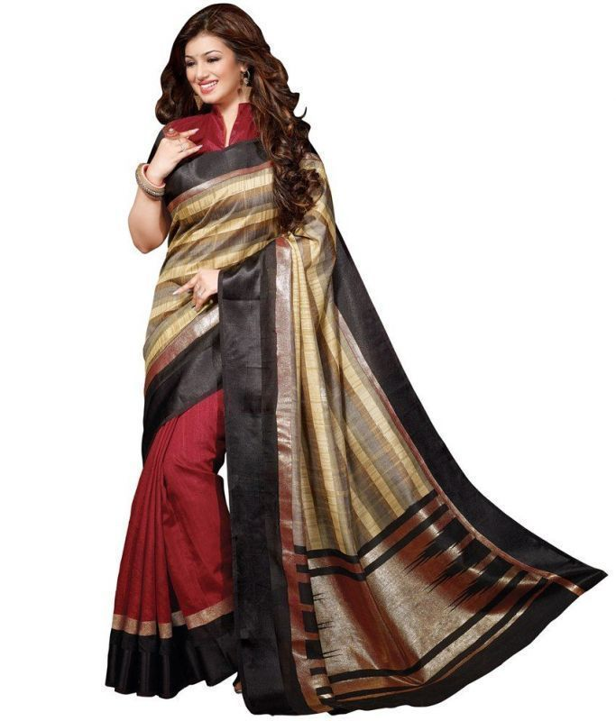 Buy Anu Fashion Women's Multicolor Bhagalpuri Saree(afk00224) online