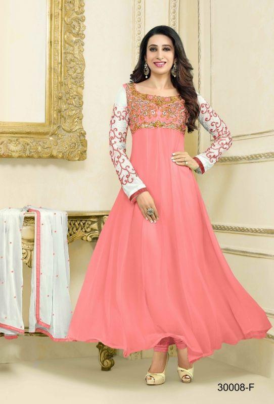 Buy Bhavna Enterprise Beautiful Collection Of Pastel Color Anarkali Dress ( Code 45896) online