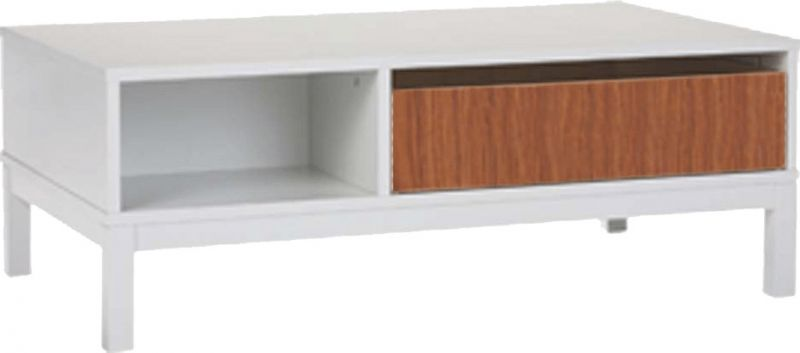 Buy Afydecor Modern Coffee Table with Drawers Featuring Dovetail Joints online