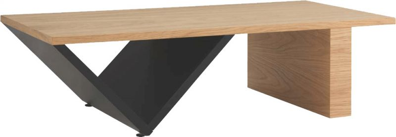 Buy Afydecor Contemporary Coffee Table with a Stylish V-shaped Base online