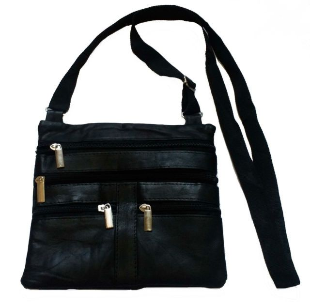 Buy Stylish Quality Leather Site Pouch/bag Belt Money Mobile Pouch/travel Man Women online