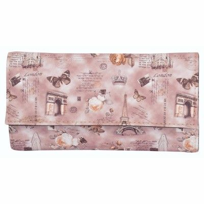 Buy Azzra Brown Wallet Clutch For Women (code - Awwc0110-brwn) online