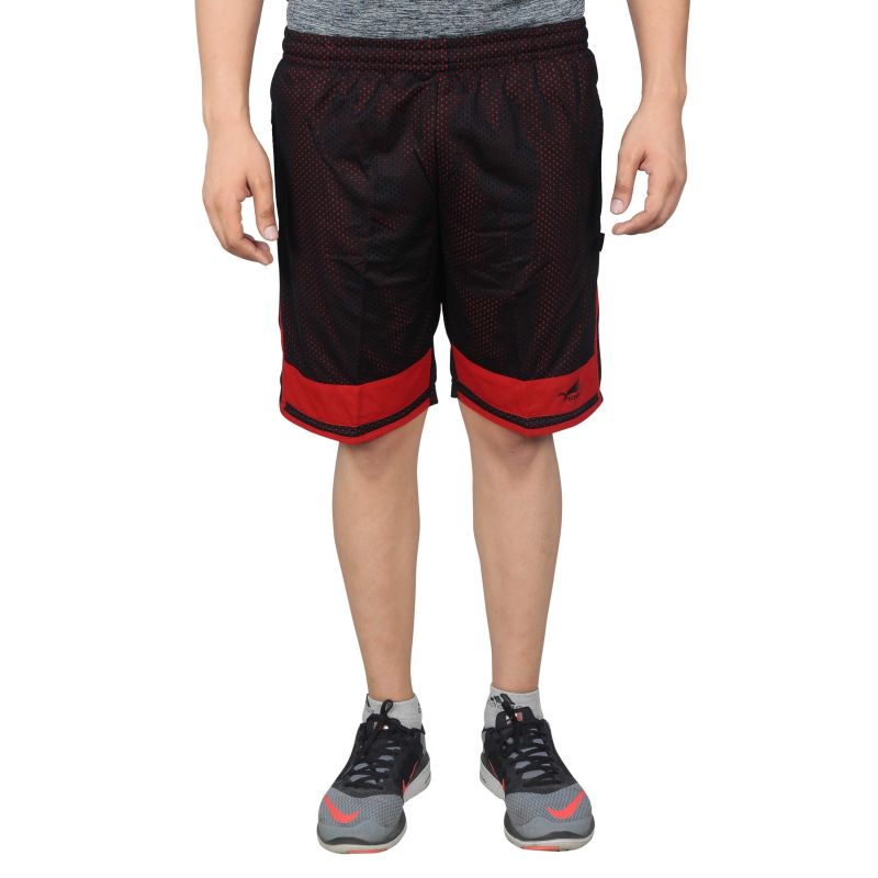 Buy Nnn Men's Black Knee Length Dry Fit Shorts(product Code - A8cw72) online