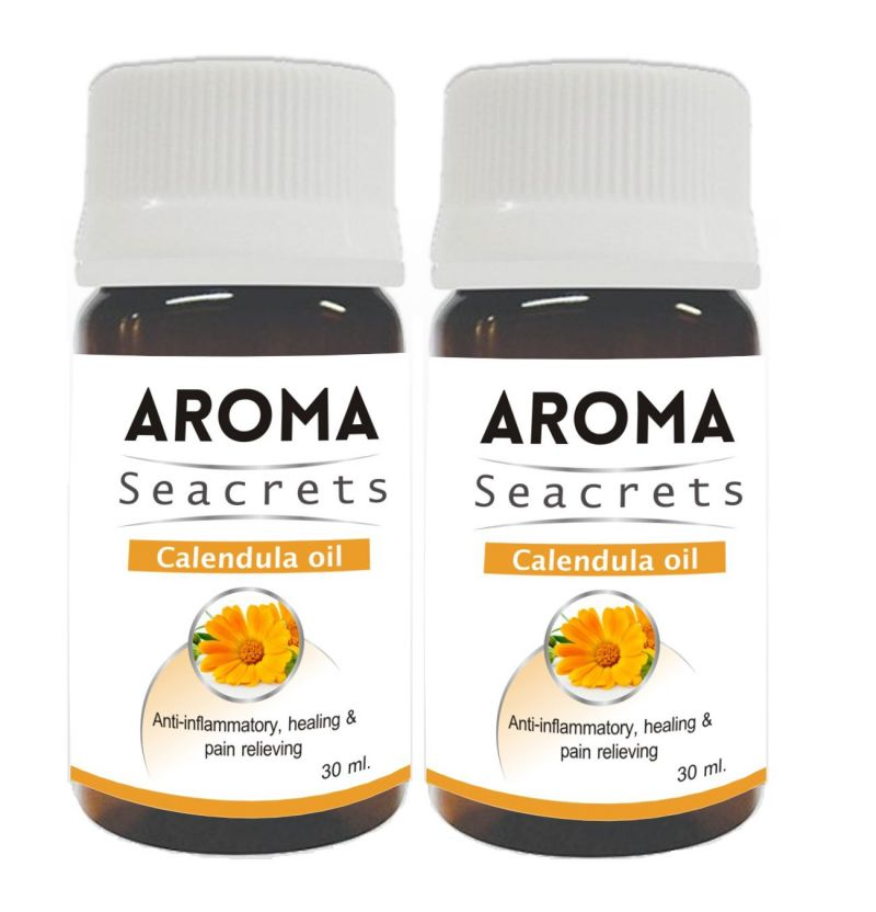 Buy Aroma Seacrets Calendula Oil (30ml) - Pack Of 2 online