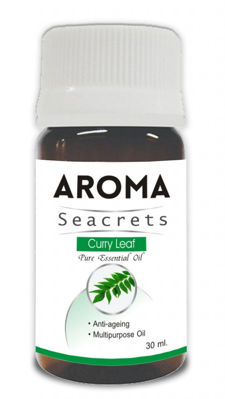 Buy Aroma Seacrets Curry Leaf Pure Essential Oil - 30ml online