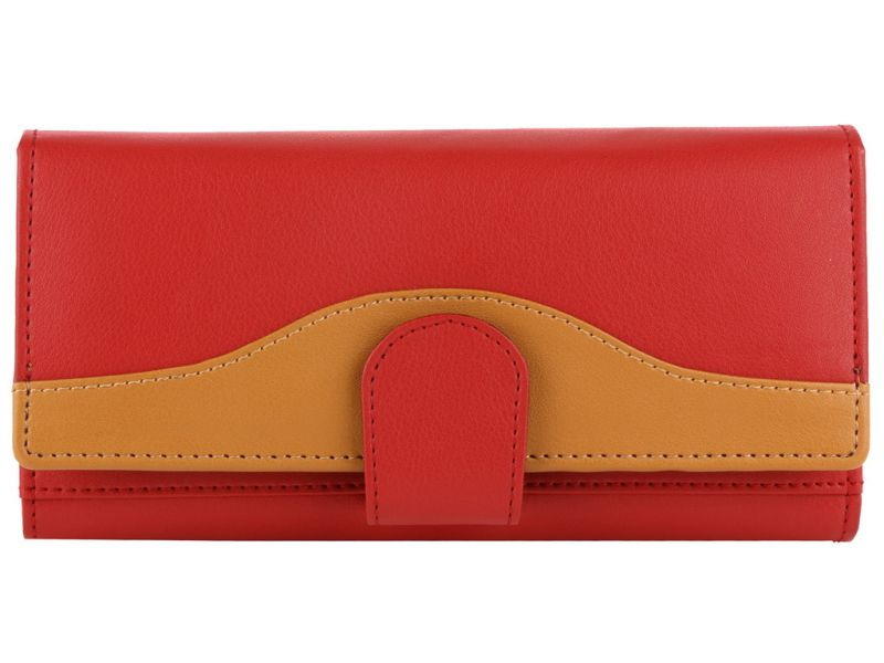 Buy Irin Red Leatherette Clutch online