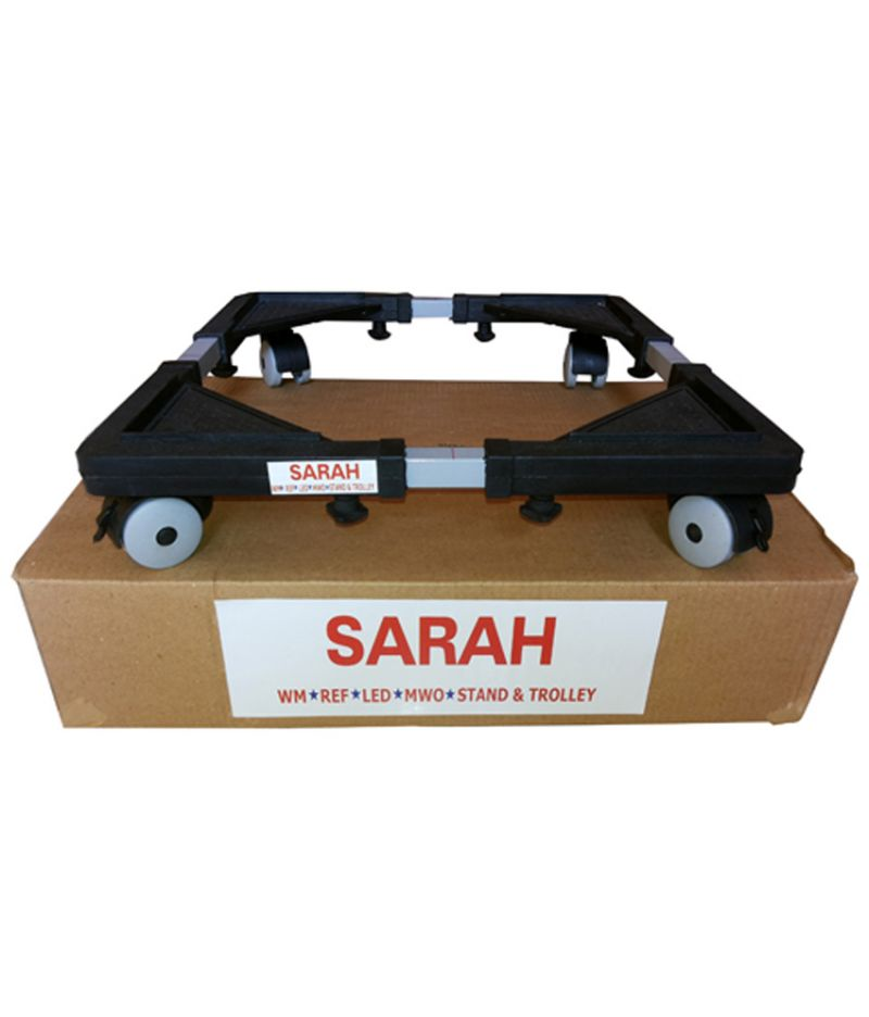 Buy Sarah Adjustable Top Loading Fully Automatic Washing Machine Trolley / Stand -104 online