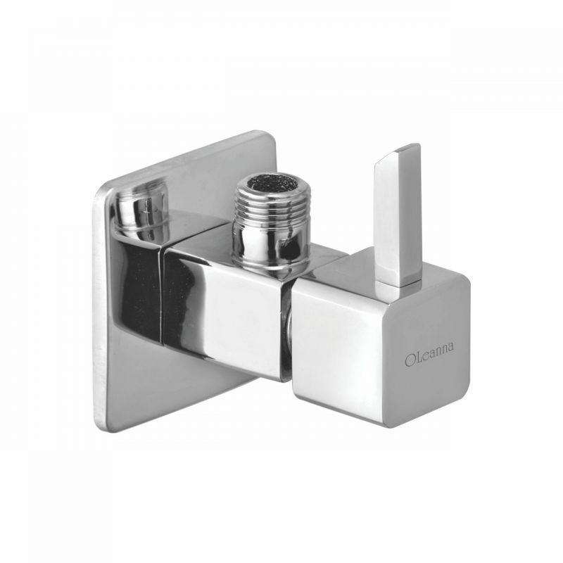 Buy Oleanna Livon Brass Angle Cock Silver Taps & Fittings online