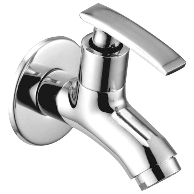 Buy Oleanna Desire Brass Bib Cock Silver Taps & Faucets online