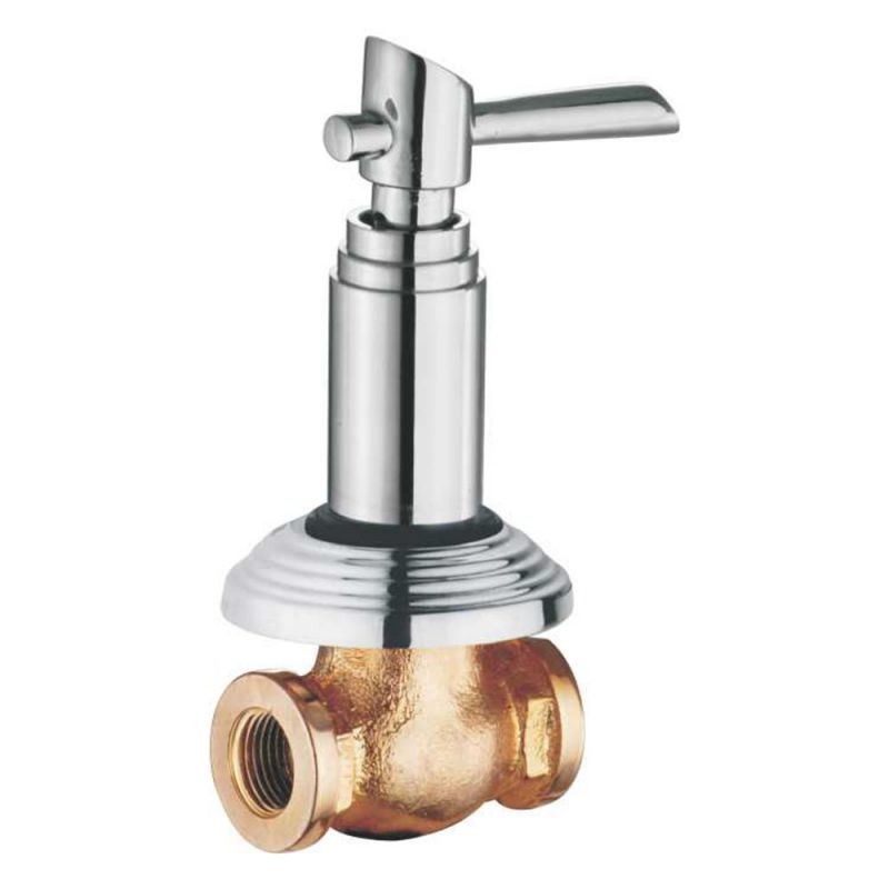 Buy Oleanna Fancy Brass Concealed Stop Cock Silver Taps & Fittings online