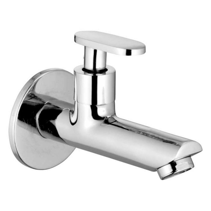 Buy Oleanna Metro Brass Long Nose Silver Taps & Faucets online