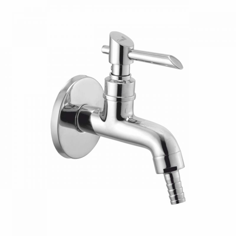 Buy Oleanna Fancy Brass Nozzle Bib Cock Silver Taps & Faucets online