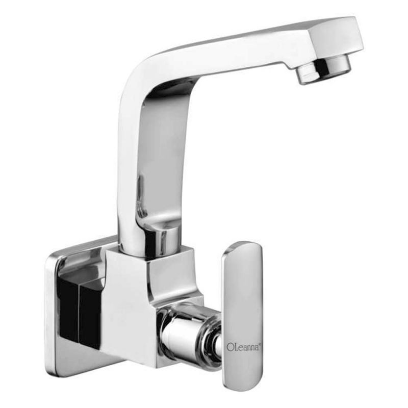 Buy Oleanna Speed Brass Sink Cock Silver Taps & Faucets online