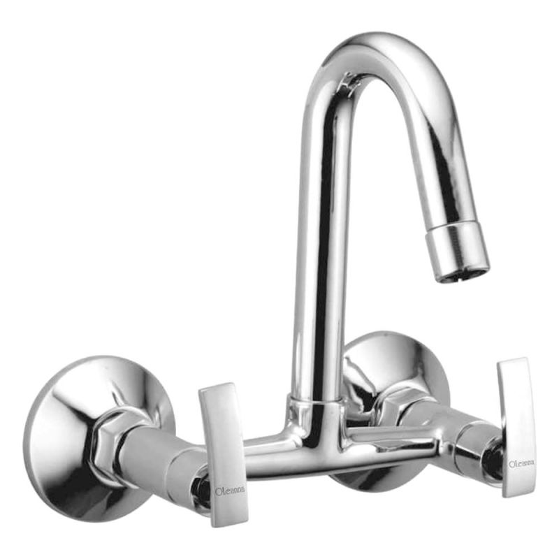 Buy Oleanna Desire Brass Sink Mixer Silver Water Mixer online