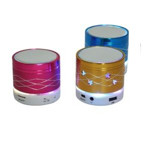 Buy Wireless Mini Bluetooth Speaker With LED Flashing Light online