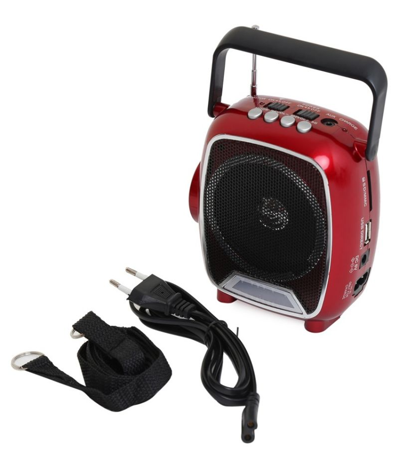 Buy Rechargable Multimedia FM Radio,sd,usb Player With Torch Light online