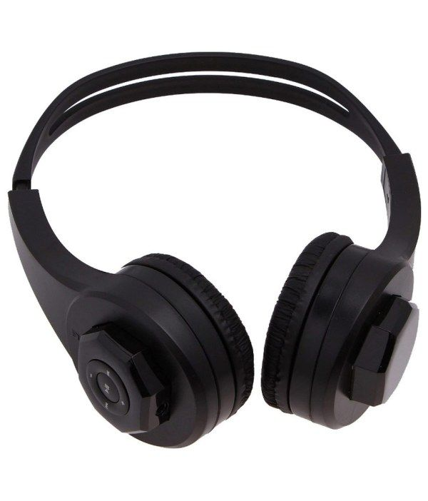 Buy Zebion Moods Headphone With In-built Card Reader Slot online