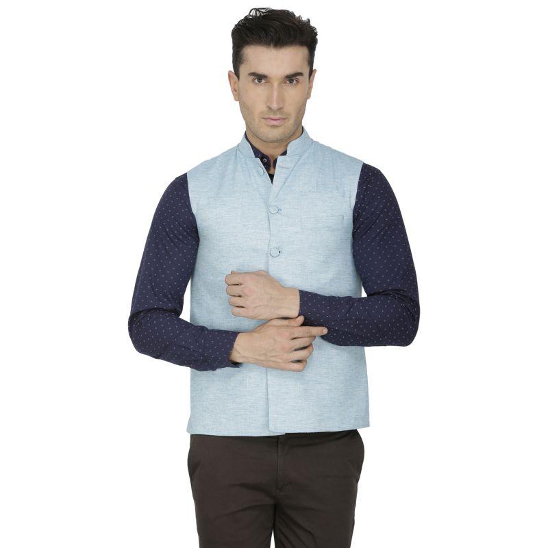 Buy Inspire Light Blue Linen Modi online