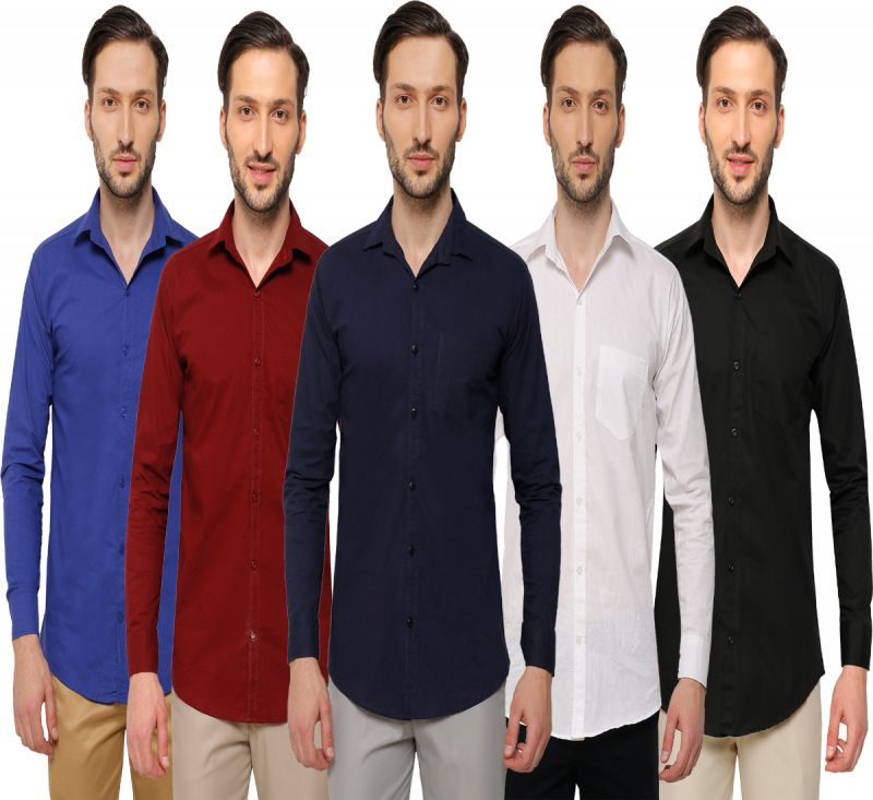 Buy Inspire Men's Casual Shirts Pack Of 5 online