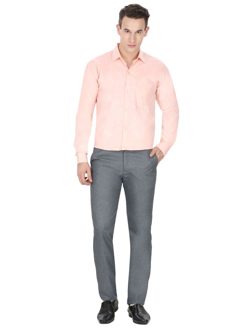 Buy Men's Orangr Formal Shirt By Inspire online