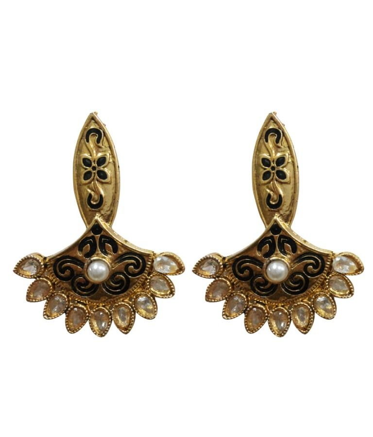 Buy La Trendz Ethnic Earrings online