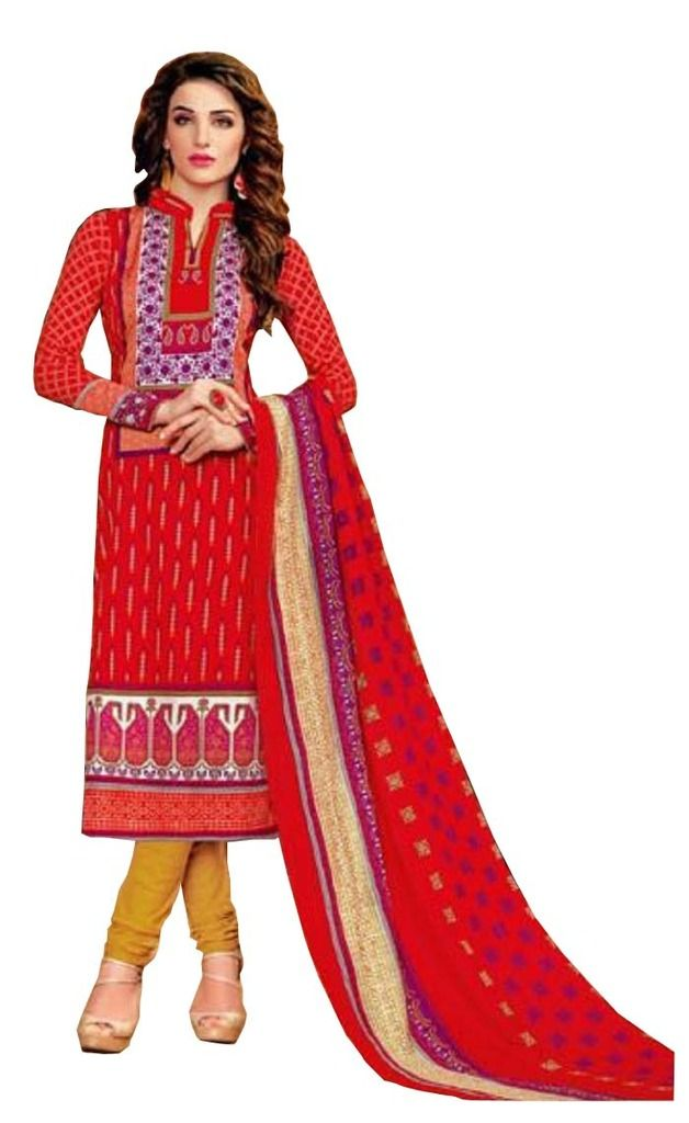 Buy Padmini Unstitched Printed Cotton Dress Material (product Code - Dtsjkashmiricot1001) online