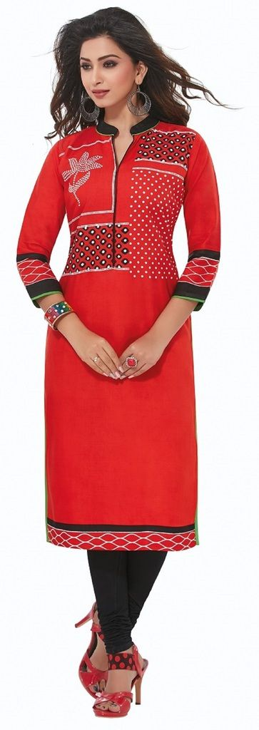 Buy Padmini Unstitched Printed Cotton Kurti Fabrics (product Code - Dtafpuregold3002) online