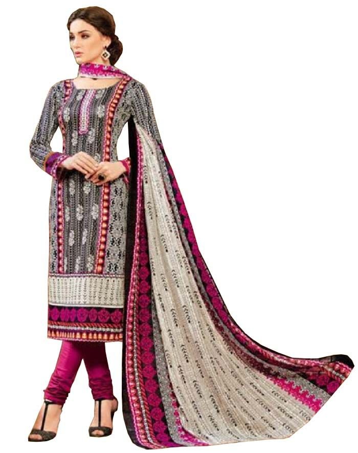 Buy Padmini Unstitched Printed Cotton Dress Material (product Code - Dtsjkashmiricot1006) online