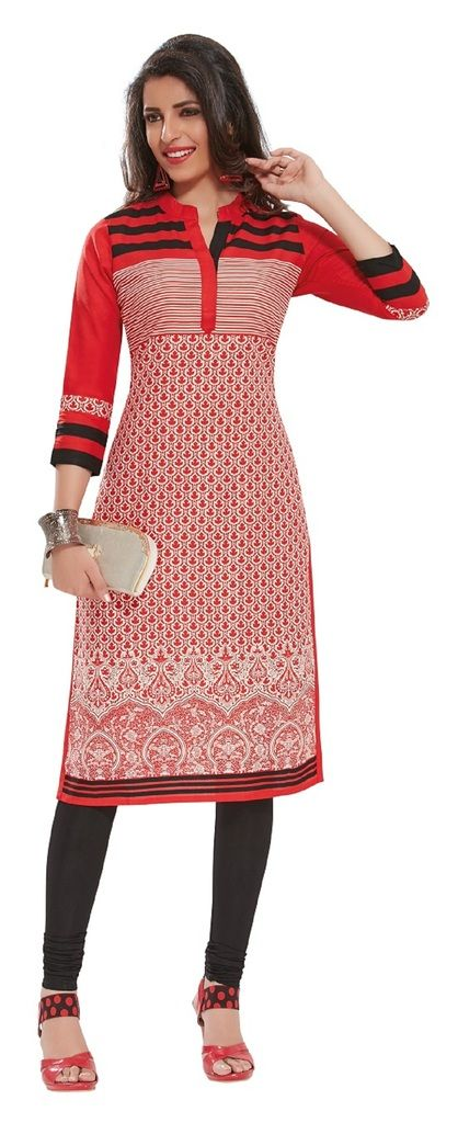 Buy Padmini Unstitched Printed Cotton Kurti Fabrics (product Code - Dtafpuregold3009) online