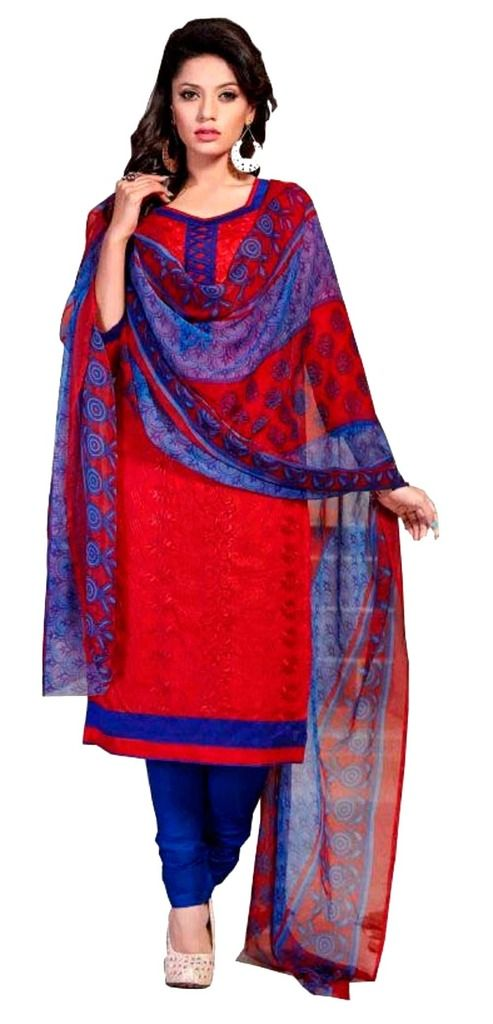 Buy Padmini Unstitched Printed Cotton Dress Material (product Code - Dtsjshinora1002) online