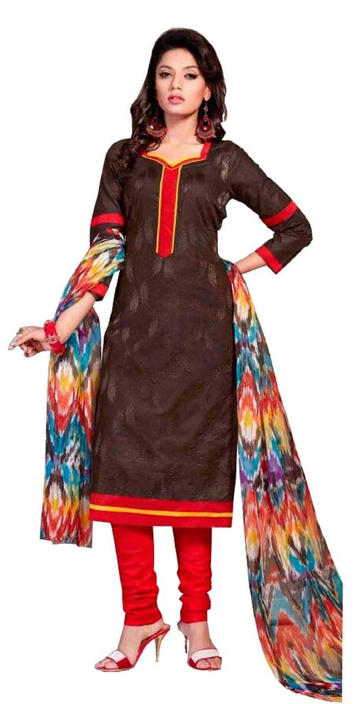 Buy Padmini Unstitched Printed Cotton Dress Material (product Code - Dtsjshinora1004) online