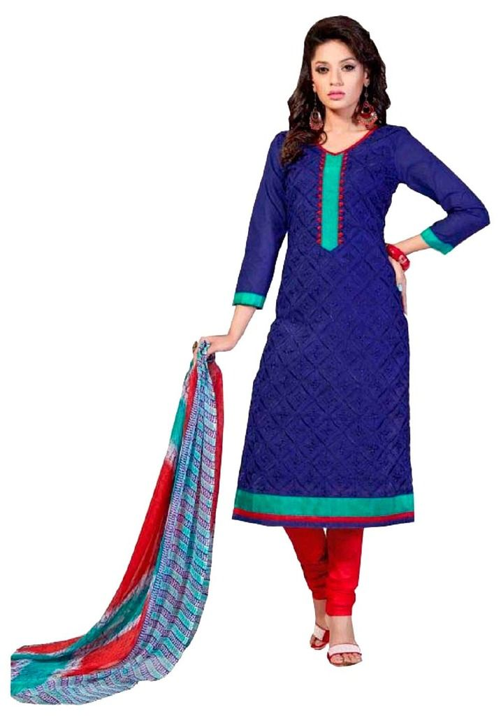 Buy Padmini Unstitched Printed Cotton Dress Material (product Code - Dtsjshinora1006) online